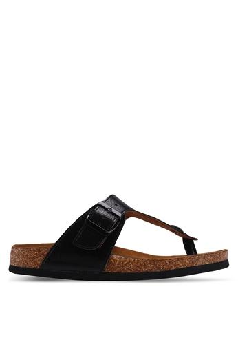 ONLY black Mathilda Metallic Sandals 52FCBSH71C23B7GS_1