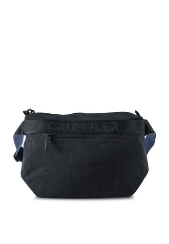 CRUMPLER black Dash Crossbody Bag 981D0AC12633DEGS_1