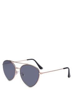 3f24a6d44f Rubi gold Olivia Fashion Aviator Sunglasses 56814GLC770511GS 1