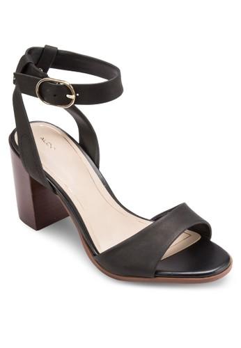 Venise 扣環踝帶粗esprit 價位跟高跟涼鞋, 女鞋, 鞋