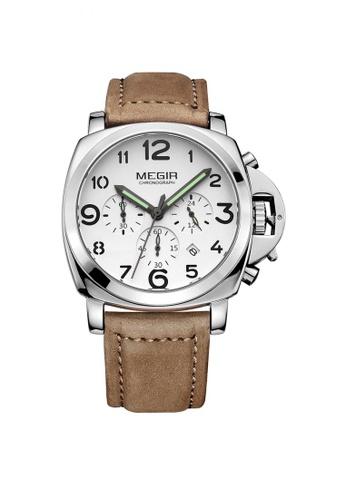 Sk Time Watch Shop brown Japan Design Skone Leather Watch B6C51AC033733DGS_1