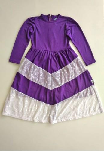 Vanessa and Cedreela purple Vanessa and Cedreela Long Lace Dress E839CKA485B8DAGS_1