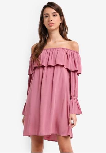 Glamorous pink Ladies Dress D9563AA93BA620GS_1