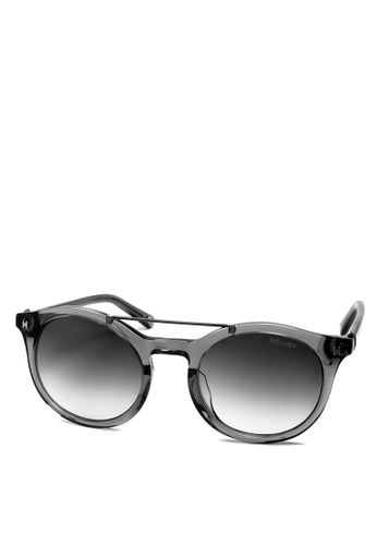 HEX EYEWEAR grey Scientist - Charles D. - Sunglasses - Italy Design HE671AC2V1KQHK_1