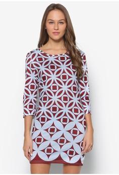 Mandala Prints Bodycon Dress