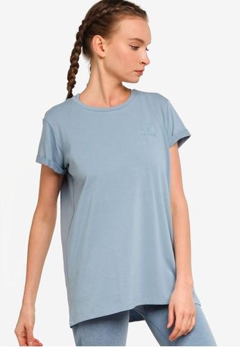 Hummel 藍色 圓領T恤 3B716AA4990BD1GS_1