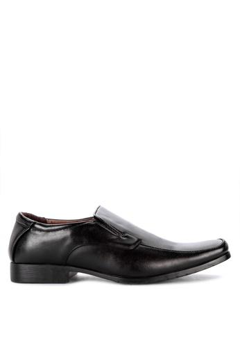 H2Ocean black Foivos Formal Slip-on Shoes 643D1SHFBB3C39GS_1