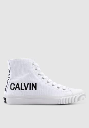Calvin Klein white Iacopo Sneakers E85D0SH8CD51B1GS_1