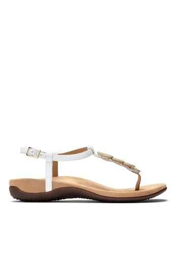 Vionic white Miami T-Strap Sandal 7DB43SHA903826GS_1