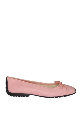 Covet pink French Sole Gabi Ballet Flats CO331SH0JBSPPH_1