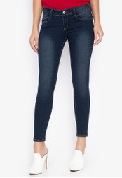 CHILI PEPPER blue Low Rise Skinny Jeans 9DCE6AA28DC486GS_1