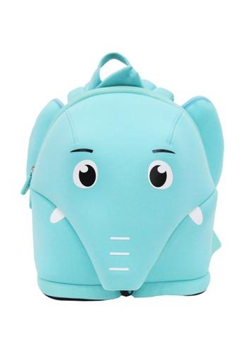 Nohoo blue Nohoo Kids Backpack Harness Elephant (Turquoise) D10B3KCDC57444GS_1