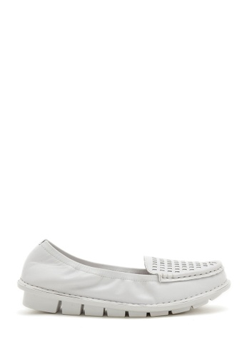 PAZZION white Comfy Loafer PA624SH19TQYMY_1