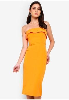 689a9dd4ca6fd Bardot orange Georgia Dress 756BCAA7AB9B51GS 1