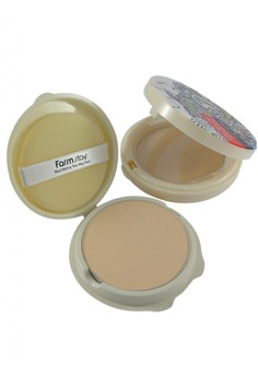 Two Way Pact # 13 (Beige) with FREE refill & beauty pouch