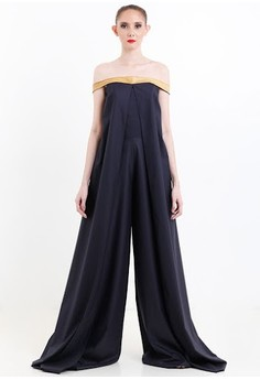 [PRE-ORDER] Trapeze Jumpsuit with Snakeskin