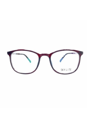 Ibrillen Optical red SKY LITE - SL003 Light and Durable Stylish Glasses Maroon 33215GL50E9854GS_1
