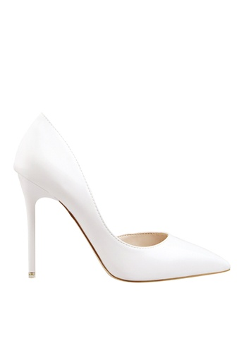 Twenty Eight Shoes 白色 單邊通幫晚裝及新娘鞋 VP-6385 96A44SHC31ED53GS_1