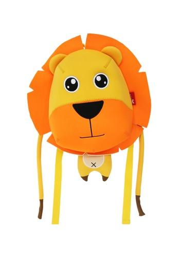 Nohoo orange Nohoo Kids Backpack Lion Face (Orange) 5F874KC973DCF5GS_1