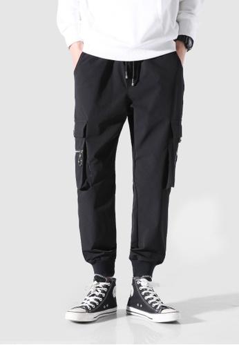 hk-ehunter black Men Jogger Pants 8899AAAAE64911GS_1