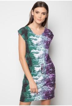 Drawstring Dress with Pockets
