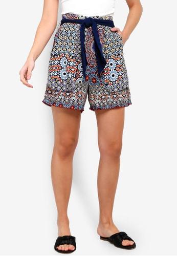 Desigual blue Shasa Patchwork Shorts 0537BAAB922A3DGS_1