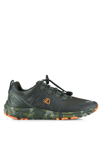 League green Kumo 1.5 Camo Shoes LE683SH0S2ONMY_1