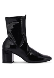 Mango black Patent Ankle Boots MA193SH0RV0SMY_1