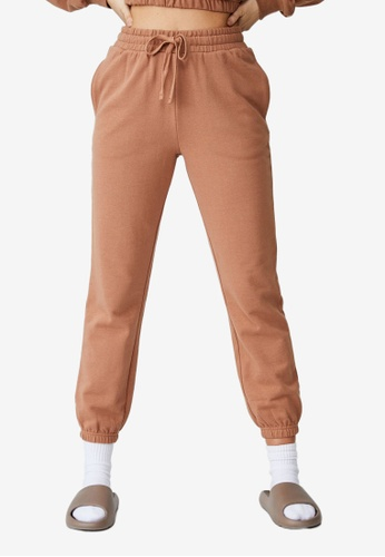 Cotton On brown Freestyle Track Pants D13AAAA8BD0FACGS_1