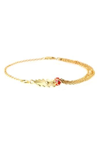 TOMEI gold TOMEI Bracelet, Yellow Gold 916 (WS-YG1276B-EC) F4CBBACED1FBA0GS_1
