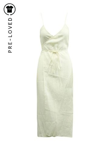 Reformation beige Pre-Loved reformation Cream Linen Dress 61031AA8CE6FF3GS_1