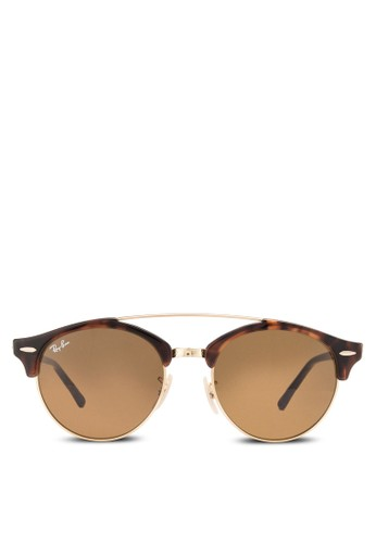 RB4346 半粗圓框太陽眼鏡, 飾品配件, 飾品配esprit 眼鏡件