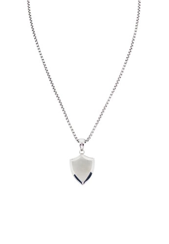 Prestige Collective silver Protegir Necklace Silver Tone 9934EACB562B72GS_1
