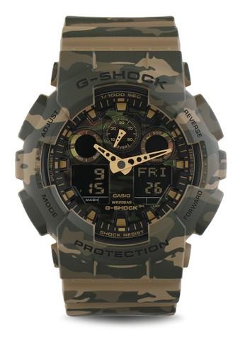 Jual G-Shock Casio G-SHOCK Jam Tangan Pria - Brown Army - Resin - GA ... 3c2fbdc2c4