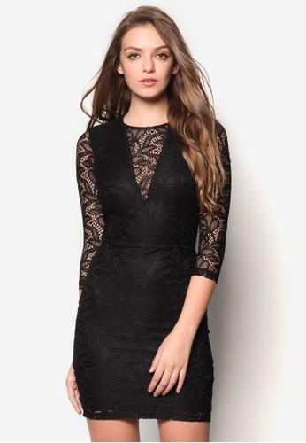 esprit retail蕾絲緊身洋裝, 服飾, 洋裝