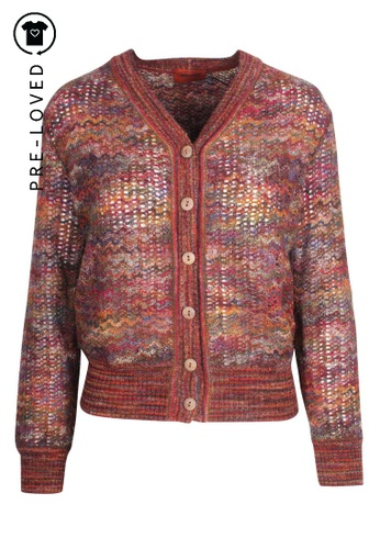 Missoni brown Pre-Loved missoni Multi-color Knitted Jacket 8012FAA76FE8FAGS_1
