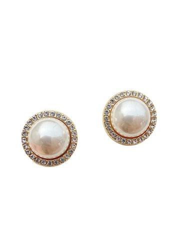 Kings Collection gold Vintage Faux Pearl Earrings (KJEA20059) EE5CFAC6AC73E8GS_1