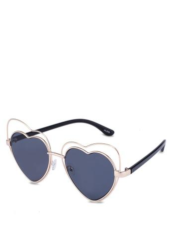 ALDO black Eraulia Sunglasses E8E8BGLFAAA45FGS_1