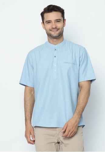 17seven Original blue 17SEVEN Shortshirt KOKO-OX03-BIRUMUDA C70B4AACEB04EFGS_1