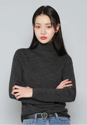 簡約高esprit 兼職領針織上衣, 服飾, 毛衣& 針織外套