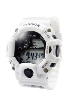 XINJIE Cedric Sports Men Silicone Strap Watch XJ-929