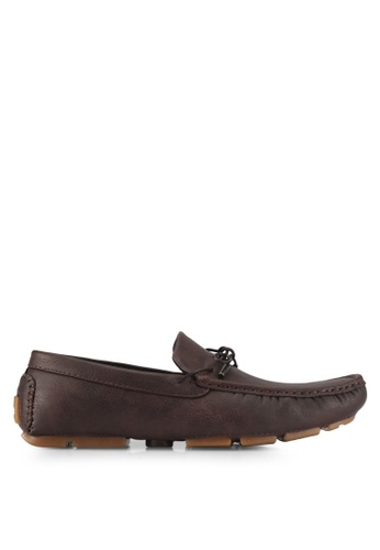 UniqTee brown Driving Loafers With Lace FB4C4SHDFC0AEFGS_1