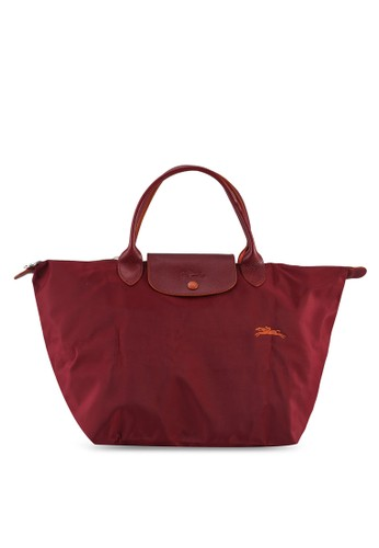 LONGCHAMP red Le Pliage Club Top Handle Bag M (zt) B3735AC96DE22BGS_1