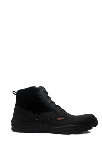 Cut Engineer black Cut Engineer Zipper Safety Boots Donald Tactikal Black CU226SH54EYRID_1