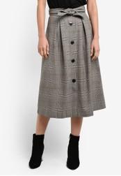 Mango brown Decorative Bow Skirt MA193AA0S9MVMY_1