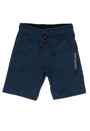 FOX Kids & Baby blue Track And Field Boy Shorts 046D2KA48D9CAAGS_1