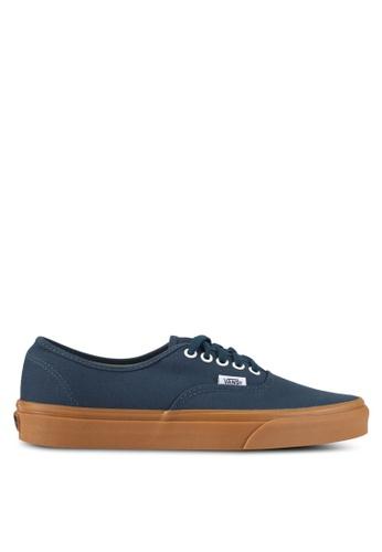 VANS blue Authentic Sneakers VA142SH0SWSTMY_1