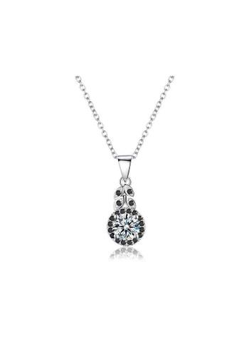 A-Excellence white Premium Elegant White Sliver Necklace 130E0ACF97A31AGS_1