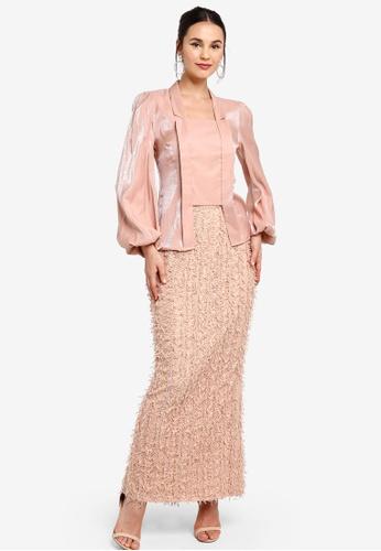 Zalia pink Modern Kebaya Kota Baru BF544AA92412DFGS_1