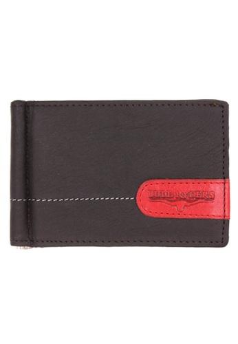 midzone brown Genuine Leather Clip Wallet MI949AC0S5MZMY_1